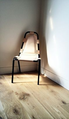 Diner Chair #interior #chair #design #chairporn #furniture #handmade #leather