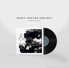 music poster, album art, fan art, music, vinyl, record design, graphic design, album, music art, poster design,