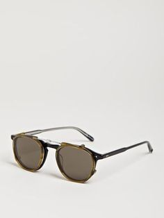 Garrett Leight Hampton Clip On Sunglasses in for Men (multi) Lyst #glasses #leight #sunglasses #garrett #shades