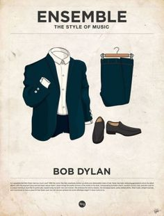 Marcus Russell Price #bob #illustration #poster #dylan #music #fashion
