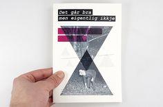–Det går bra–fanzine : Mikael Fløysand #print #magazine