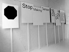 Research and Development #sign #placards #minimal #typography