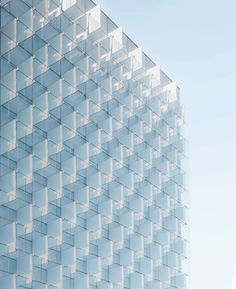 Geometry of Madrid Architecture by Joel Filipe