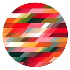 SUZANNE CLEO ANTONELLI #color #pattern #slanted #geometric