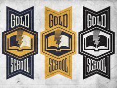 Gs #banner #school #book #bookmark #gold