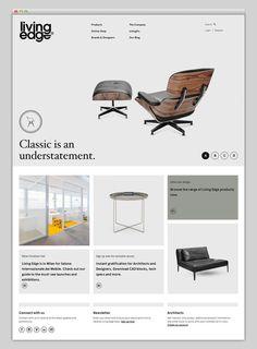 Living Edge #website #layout #design #web