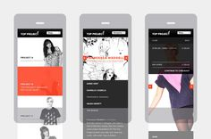 Freytag Anderson The Top Project #iphone #web