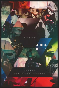 Tycho @ The Metro Theatre – Sydney 24/11/12 #tycho #photos #design #poster #music #concert