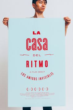 La Casa del Ritmo - film poster #film #poster #screenprinting