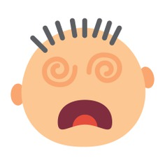 See more icon inspiration related to sick, faint, emoticon, dizzy, emotions, feelings and interface on Flaticon.