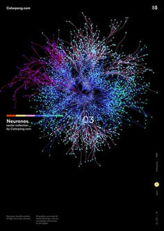 Colorpong.com - Neurones vector bundle on Behance