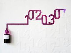 Ink Calendar | Oscar Diaz Studio #calendar #ink
