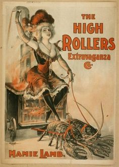 Posters for Burlesque Shows, 1890s | Retronaut