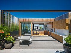 Indoor/outdoor kitchen by Craig Steely