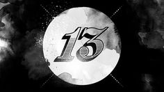 kidXmicah › 13 #blackwhite #vintage #grunge #numbers #dirty