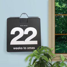 52 Weeks To Xmas Calendar #calendar