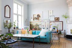 Stilblandningen sätter tonen i personliga loppishemmet - Sköna hem #interior #design #decor #deco #decoration