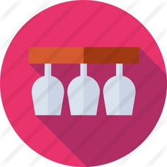 See more icon inspiration related to wine, food and restaurant, wine glass, glasses, drinking, glass, drink and cup on Flaticon.