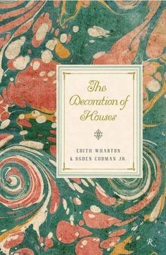 The Book Cover Archive: The Decoration Of Houses, design by Gabriele Wilson
