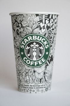Starbucks Cups #illustration