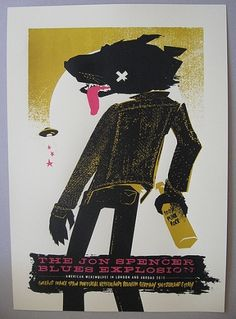 GigPosters.com - Jon Spencer Blues Explosion, The #gig #poster