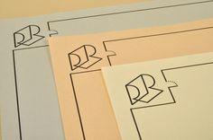 Roser Ribas Albert Romagosa #logo #print #identity