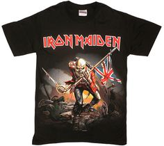 Iron Maiden T-shirt #design #printing #fashion #t-shirts