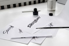 Love this #ink #streethearts #branding