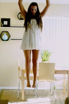 Haley / Surreal #beautiful #women #levitating #warm
