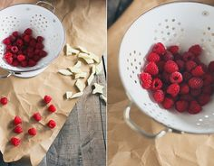 honey & jam | recipes + photos #raspberries #kitchen #honey