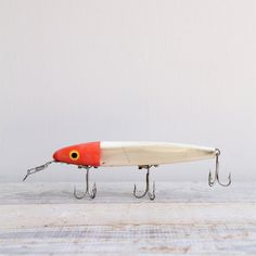 Giant Vintage Fishing Lure #lure