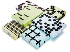 Packaging | Stockholm Design Lab #wrap #patterns