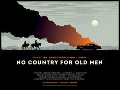 No Country for Old Men Signalnoise The art of James White #movie #poster