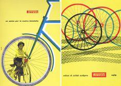 Bob Noorda #cycling #illustration #bicycles