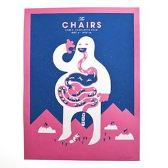 Chairs Tour Shop #print #design #graphic