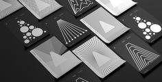 arcadia data branding black and white geometry minimal beautiful designer Casey Martin inspiration designblog mindsparkle mag www.mindsparkl