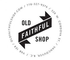 FFFFOUND! | PTARMAK | design | austin, u.s.a. #old #faithful #typography