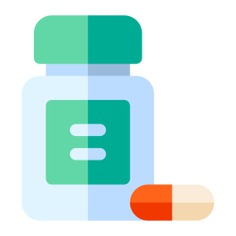 See more icon inspiration related to healthcare and medical, pills, drug, drugs, pharmacy, pill, medicines, tablet and medicine on Flaticon.