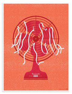 Wilco Fan by Woody Harrington #design #poster #fan #monochromatic #wilco