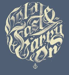 "typeverything:""Hold Fast #calligraphy #type #design"