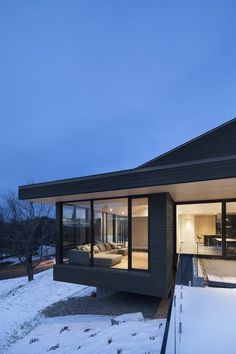 Vingt House, Bourgeois Lechasseur Architects 4