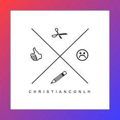 C H R I S T I A N C O N L H #icon #identity #symbol #logo #eblem