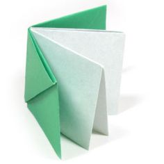 How to make an easy origami book (http://www.origami-make.org/howto-origami-book.php) #origami #book #origamibook #easyorigami #origmiforki