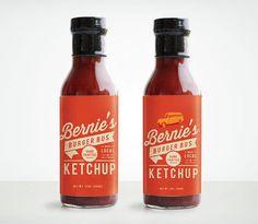 MakeMatter_Bernies_03 #packaging #ketchup