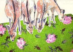 coqueterías - (via loveyourchaos) #artwork #collage #bambi