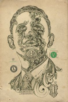 ONE DOLLAR MAN #dollar #illustration #money #obama