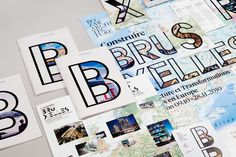 Building for Brussels #print #logo #identity #type #typography