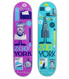 Zoo York: Skateboards — Athletics #york #zoo #athletics