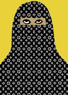 burqa #ysl #lv