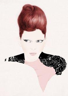 Ilustraciones de Carlos Egan #fashion #illustration